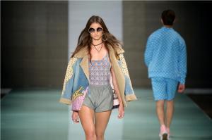Designer SHANTALL LACAYO at Miami Fashion Week 17