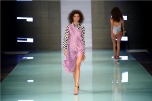 Designer SHANTALL LACAYO at Miami Fashion Week 19