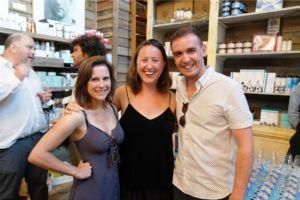 Rebecca Joyce, Laurie Nouchka, & Robert Taylor