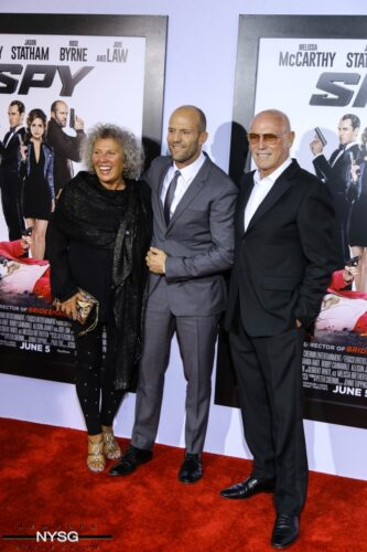 Jason Statham & Parents
