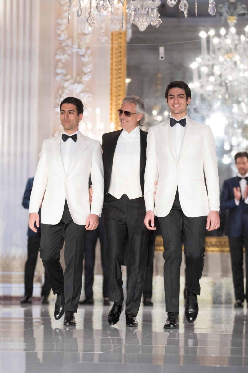 Stefano Ricci Fashion Show In The White Room At Palazzo Pitti