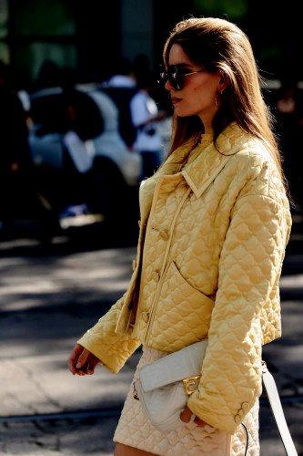 Street Style at FENDI during Milan Fashion Week