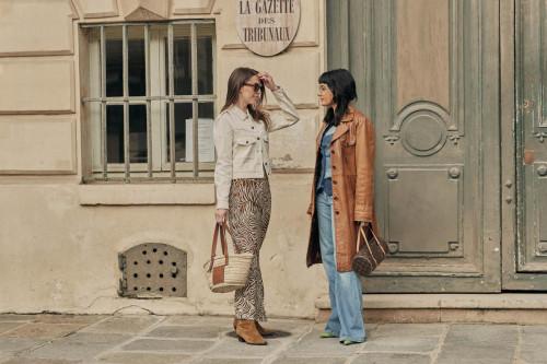 Sarah Lou Falk, Maria Bernad  Paris Fashion Week by Nick Leuze-13