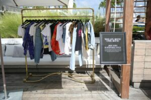 Goes Around Comes Around celebrates Sustainable Fashion at the 1 Hotel Rooftop during Miami Swim Week