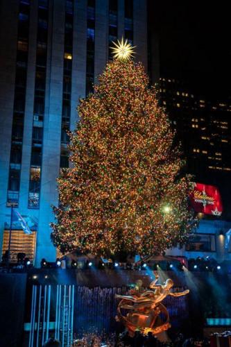 ©SwarovskiCrystalStarby DanielLibeskind,RockefellerCenter2018, NewYork City