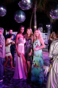 Guerdy Abraira & Kimberly Van Belle