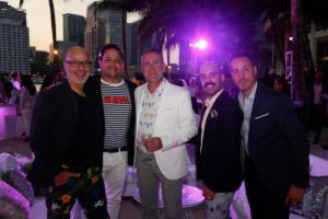 Ron Ben  Israel, Mike Luster, Tommy Murphy, Gamo Jimenez, & Manolo Doreste