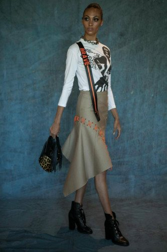 Thalé Blanc Statements by Deborah Sawaf Debuts at NYFW