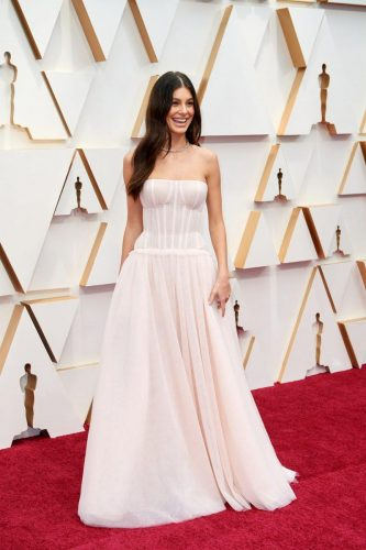 Camila Morrone arrives on the red carpet of The 92nd Oscars® at the Dolby® Theatre in Hollywood, CA on Sunday, February 9, 2020.emy Awards