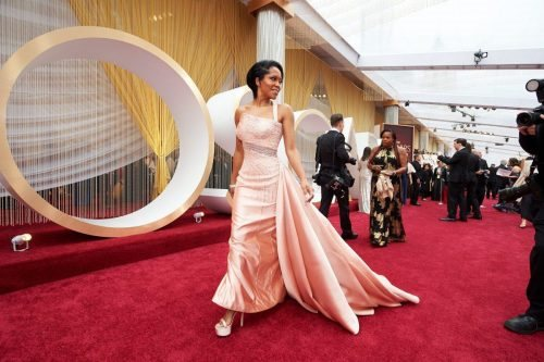Regina King arrives on the red carpet of The 92nd Oscars® at the Dolby® Theatre in Hollywood, CA on Sunday, February 9, 2020.