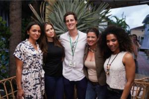 Liana Rivera, Tatiana Escobar, , Martin Bravo, Jenny May, & Melissa Fulgencio