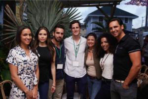 Liana Rivera, Tatiana Escobar, Miguel Pinto, Martin Bravo, Jenny May, Melissa Fulgencio, & Jack Conrad