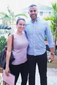 Michelle Pava & Abid Ali