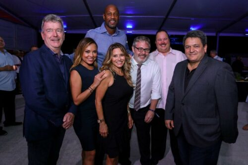 Andrew Doole, Kelly Blanco, Alonzo Mourning, Ingid Hoffmann, Ni…a, Mike Mayo 1