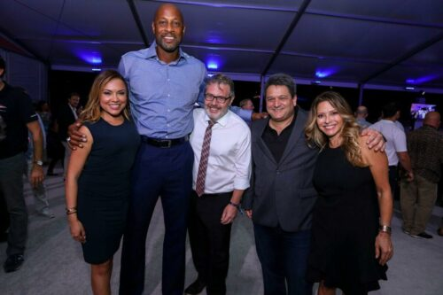 Kelly Blanco, Alonzo Mourning, Nils Bernstin, Mike Mayo,  Ingid Hoffmann
