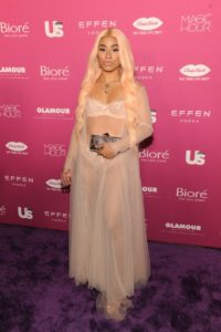 Hennessy Carolina at the 2018 US Weekly Most Stylish New Yorkers