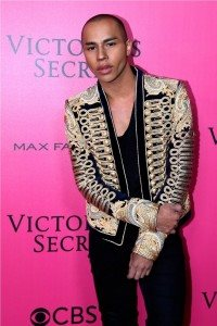 Olivier Rousteing Pink Carpet 2016 VS Fashion Show