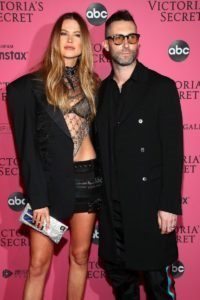 Behati Prinsloo, Adam Levine at the 2018 Victoria's Secret Fashion Show After Party