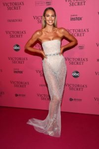 Candice Swanepoel at the 2018 Victoria's Secret Fashion Show After Party