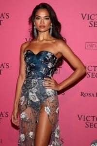 Shanina Shaik at the 2018 Victoria's Secret Fashion Show After Party