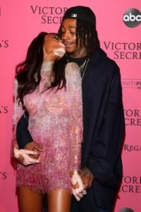 Winnie Harlow, Wiz Khalifa at the 2018 Victoria's Secret Fashion Show After Party