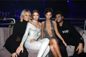 Yolanda, Gigi, Bella Hadid, The Weekend at the 2018 Victoria's Secret Fashion Show After Party