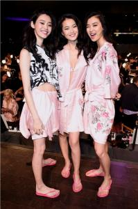 Ming Xi, Estelle Chen and Liu Wen