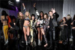 The Struts, Maggie Lane, Zuri Tibby at the 2018 Victoria's Secret Fashion Show