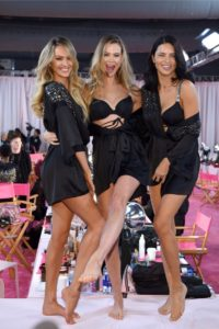 Candice Swanepoel, Behati Prinsloo, Adriana Lima at the 2018 Victoria's Secret Fashion Show