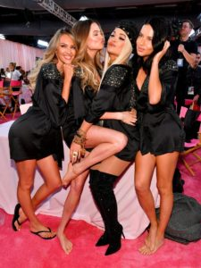 Candice Swanepoel, Behati Prinsloo, Rita Ora, Adriana Lima at the 2018 Victoria's Secret Fashion Show