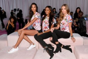 Lais Ribeiro, Jasmine Tookes, Josephine Skriver at the 2018 Victoria's Secret Fashion Show