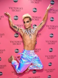 Frankie Grande at the 2018 Victoria's Secret Fashion Show