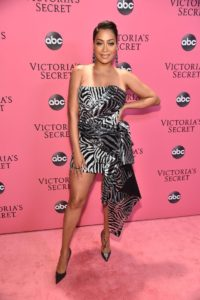 La La Anthony at the 2018 Victoria's Secret Fashion Show