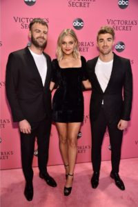 The Chainsmokers, Kelsea Ballerini at the 2018 Victoria's Secret Fashion Show