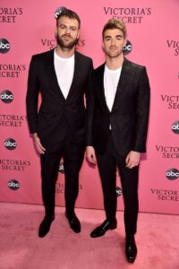 The Chainsmokers at the 2018 Victoria's Secret Fashion Show