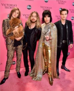 The Struts at the 2018 Victoria's Secret Fashion Show