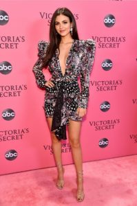 Victoria Justice at the 2018 Victoria's Secret Fashion Show