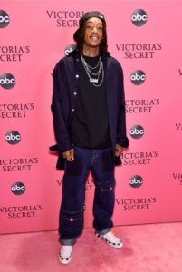 Wiz Khalifa at the 2018 Victoria's Secret Fashion Show