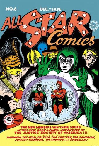 All-Star Comics #8 - Everett E. Hibbard