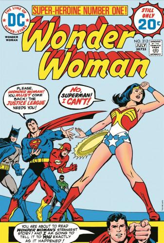 Wonder Woman #212 - Bob Oksner