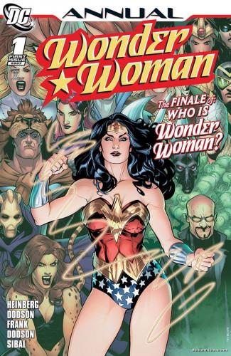 Wonder Woman Annual #1 - Terry Dodson, Rachel Dodson