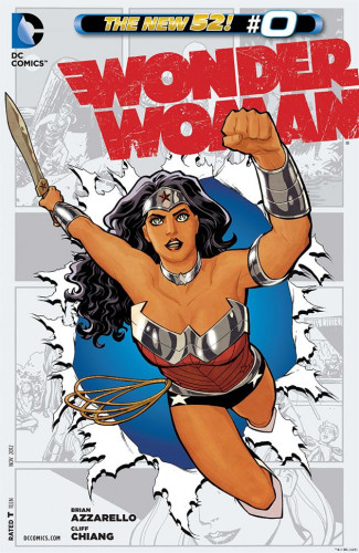 Wonder Woman #0 - Cliff Chiang
