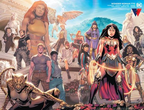 Wonder Woman #770 - Travis Moore