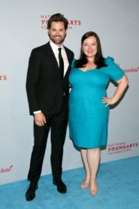 Andrew Rannells and Zuzanna Szadkowski (Photo by Astrid Stawiarz Getty Images for YoungArts)