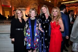Gillian Hearst, Agnes Gund, Sarah Arison and Sandra Tamer (Photo by Cindy Ord Getty Images for YoungArts)