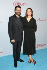 Jose Parla and Moriah Parla (Photo by Astrid Stawiarz Getty Images for YoungArts)