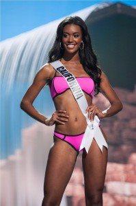 India Williams, Miss California USA 2017