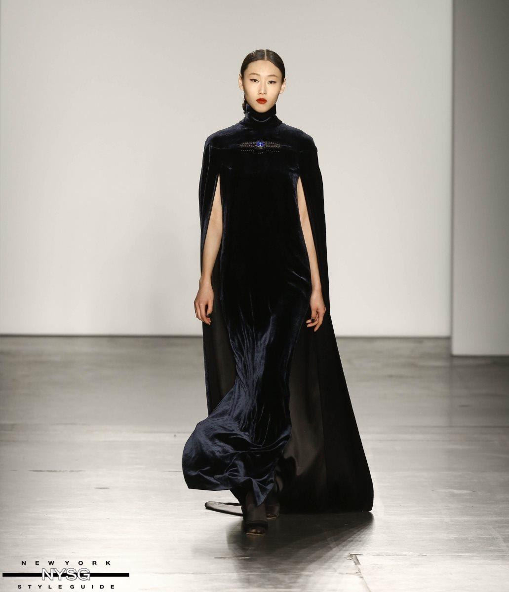 Zang Toi At New York Fashion Week Fall 2017