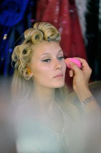 Backstage at Paris Fashion Week Couture 17
