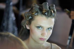Backstage at Paris Fashion Week Couture 27